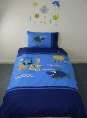 Seaworld Single Duvet Cover Set